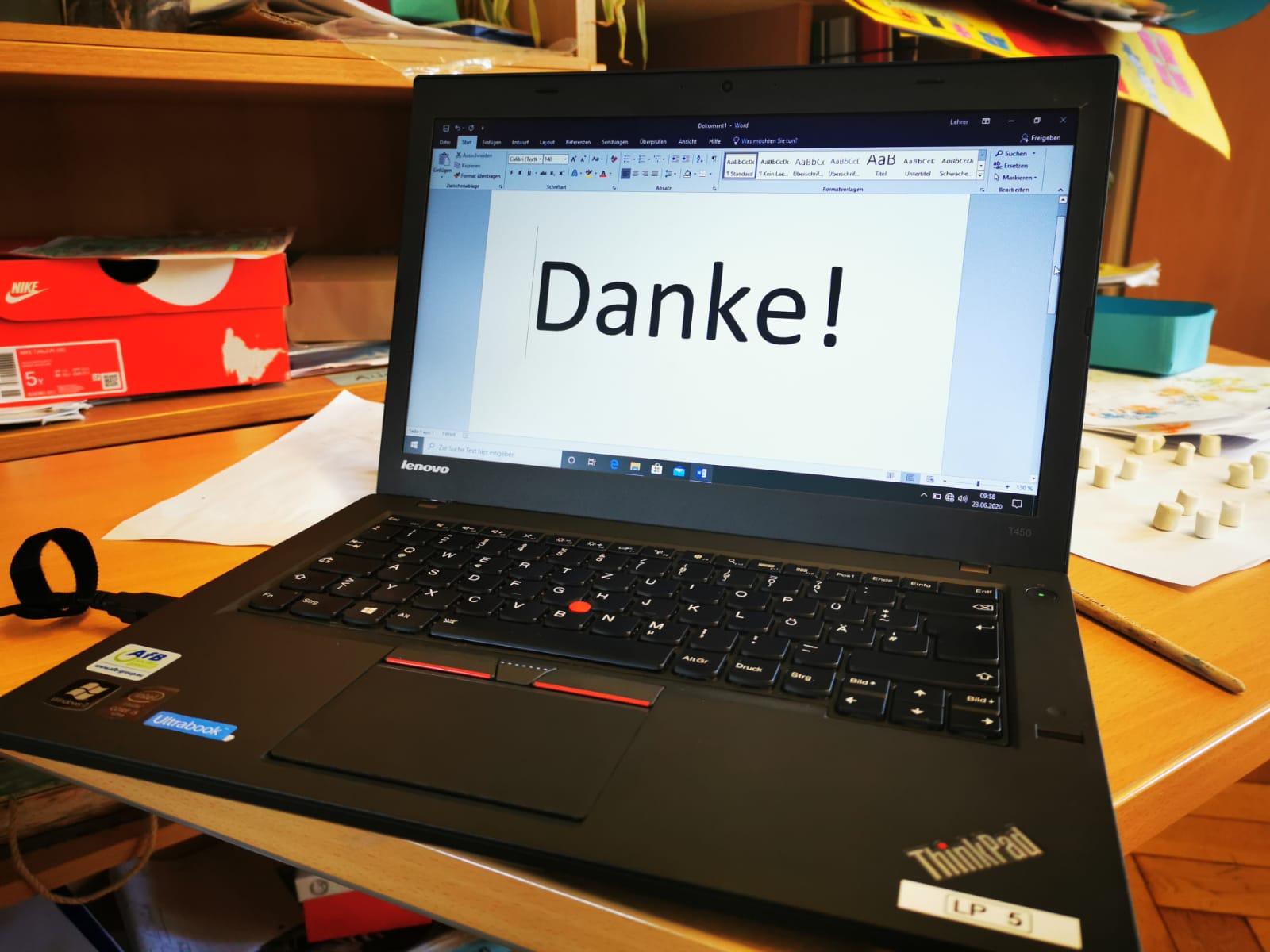 Laptops für Schüler im Homeschooling